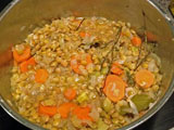 Cider and Green Lentil Stew (by FrugalFeeding)