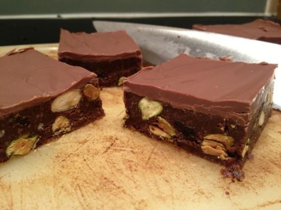 Chocolate Tiffin Cake